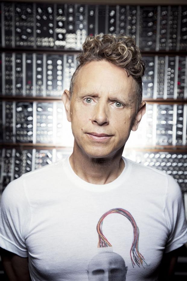 Martin Gore (Depeche Mode) récompensé au Moogfest 2019