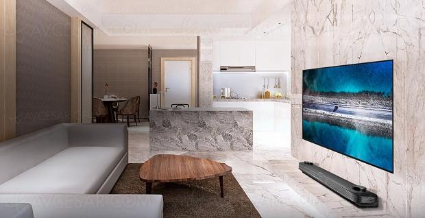 TV Oled Ultra HD LG W9, mise à jour spécifications et prix indicatifs