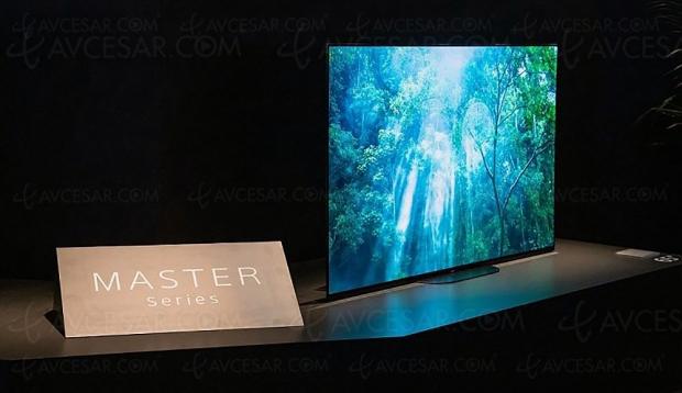TV Oled Sony AG9, mise à jour prix indicatifs