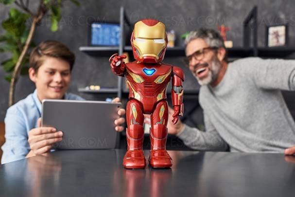 Un robot Iron Man à la maison, c'est possible avec le MK50 de Ubtech Robotics