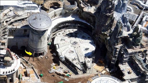 Parc Star Wars Disney World, le chantier déjà bien avancé, photos !