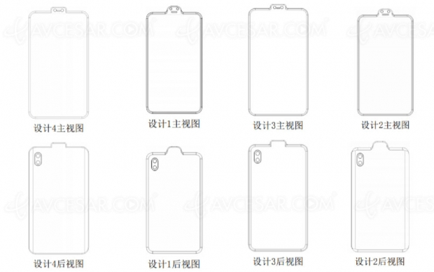 Brevet Xiaomi : smartphone avec encoche… inversée