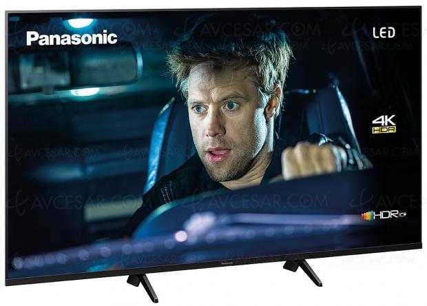 TV LED Ultra HD Panasonic GX700, mise à jour spécifications et prix indicatifs