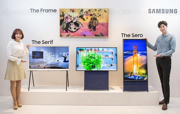 Samsung lance The Sero, un téléviseur 43