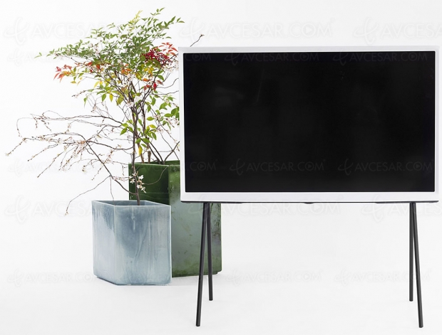 TV LED Ultra HD/4K Samsung The Serif 2019, disponible en 43