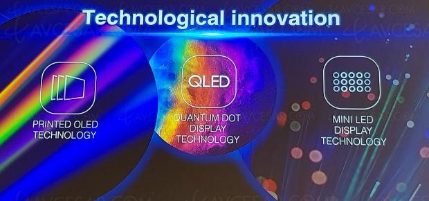 TCL, le constructeur chinois mise sur les technologies TV LCD, TV Oled, QLED et TV Mini LED