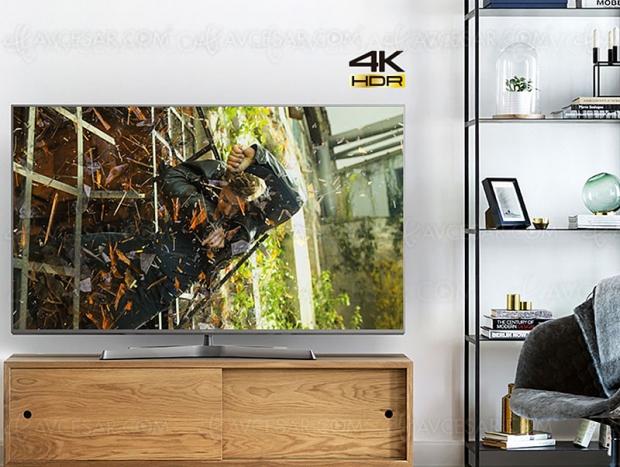TV LED Ultra HD Panasonic TX‑75GX942, mise à jour spécifications et prix indicatifs