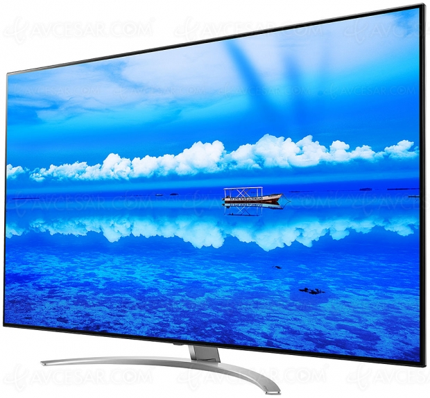 TV LED NanoCell Ultra HD LG SM9800 : Full LED Local Dimming et processeur Alpha 7 Gen 2