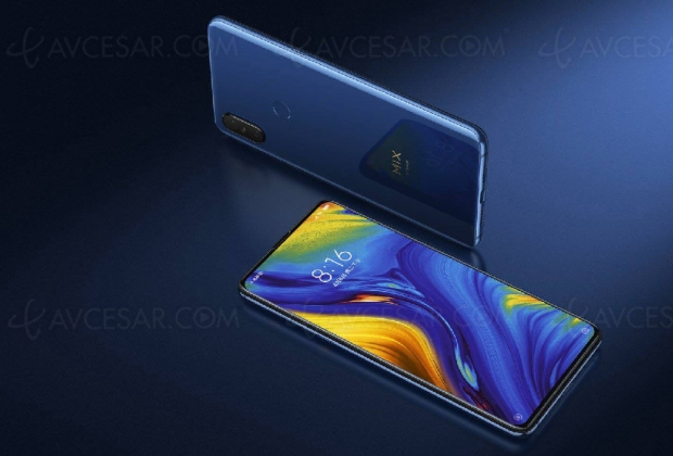 Smartphone Xiaomi Mi Mix 3 5G disponible en Suisse