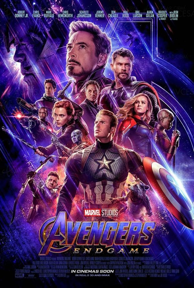 Avengers Endgame en exclusivité sur Disney+ le 11 décembre