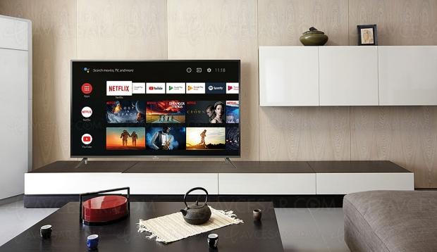 TV LED Ultra HD TCL EP640, quatre modèles HDR10 et Android 9.0