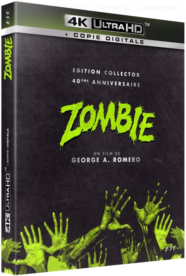 Zombie 4K Ultra HD, Collector 40e anniversaire, tous les détails