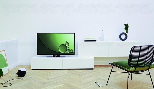 TV LED Ultra HD Loewe Bild 1, compléments de gamme 43'' et 49''