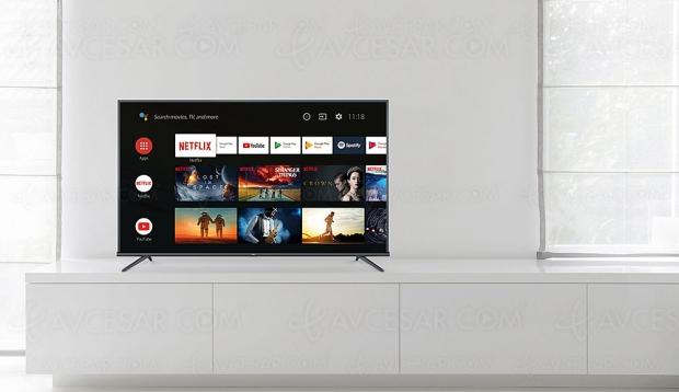 TV LED Ultra HD TCL EP660, quatre modèles HDR10 et Android 9.0