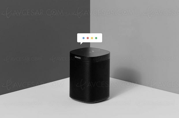 Google Assistant arrive sur les enceintes Sonos