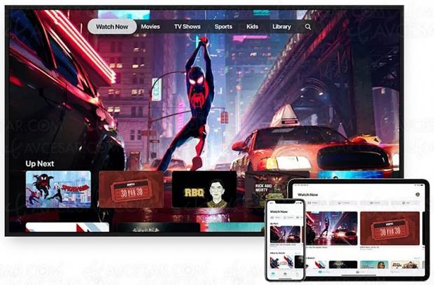 Arrivée de la nouvelle application Apple TV : Channels, iTunes, 4K HDR…
