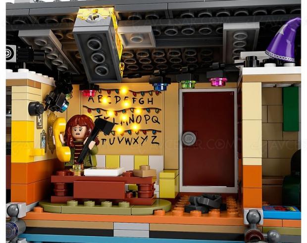 Boîte Lego Stranger Things, construisez votre monde à l'envers