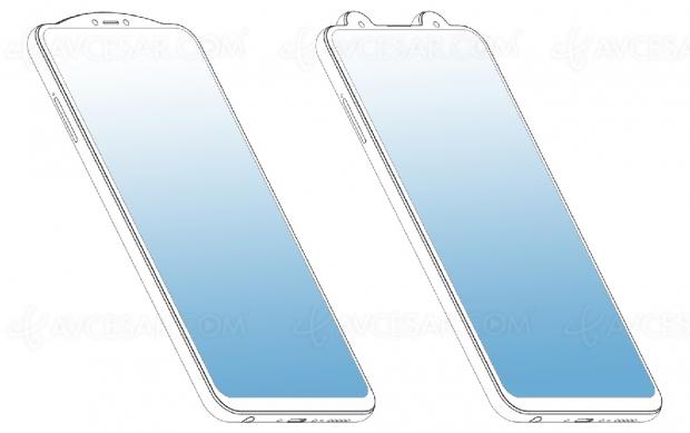 Vivo aussi brevette un smartphone à encoche « inversée »