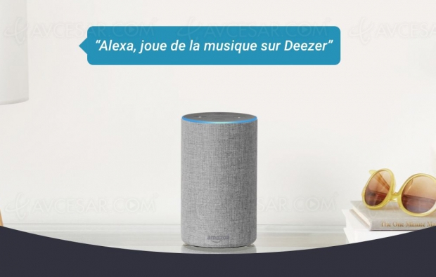 Deezer version gratuite disponible sur Amazon Alexa