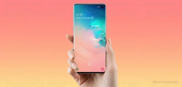 Test smartphone Samsung Galaxy S10, en ligne : en ligne