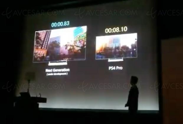 PlayStation 5, démonstration en photo des temps de chargement