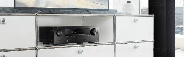 Denon AVR-X1600H, amplificateur 7.2 Bluetooth, HDMI 2.0b, HDR Dolby Vision, HDCP 2.3, BT.2020…