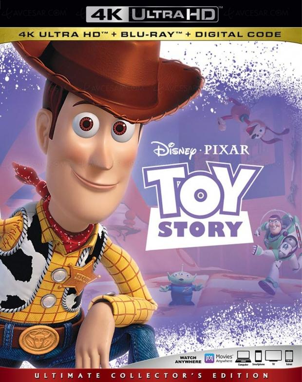 Trilogie Toy Story 4K Ultra HD, le retour de Buzz l'Éclair