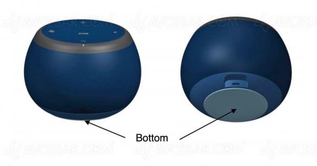 Enceinte Galaxy Home Mini, images en fuite
