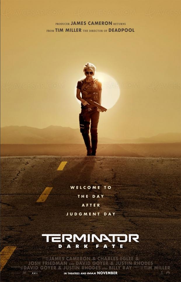Terminator Dark Fate (trailer), Schwarzenegger et Linda Hamilton reprennent du service