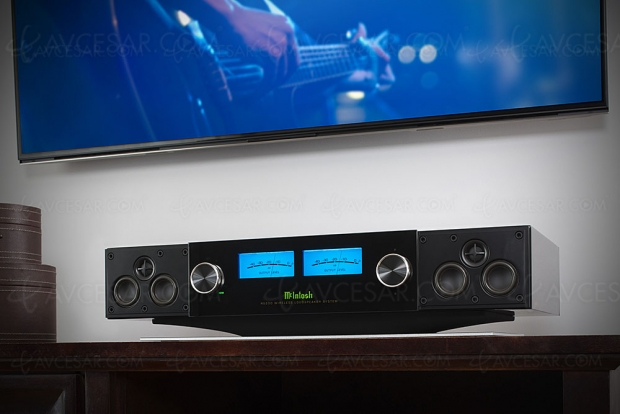 McIntosh RS200, enceinte active sans‑fil multiroom DTS Play‑Fi et AirPlay 2