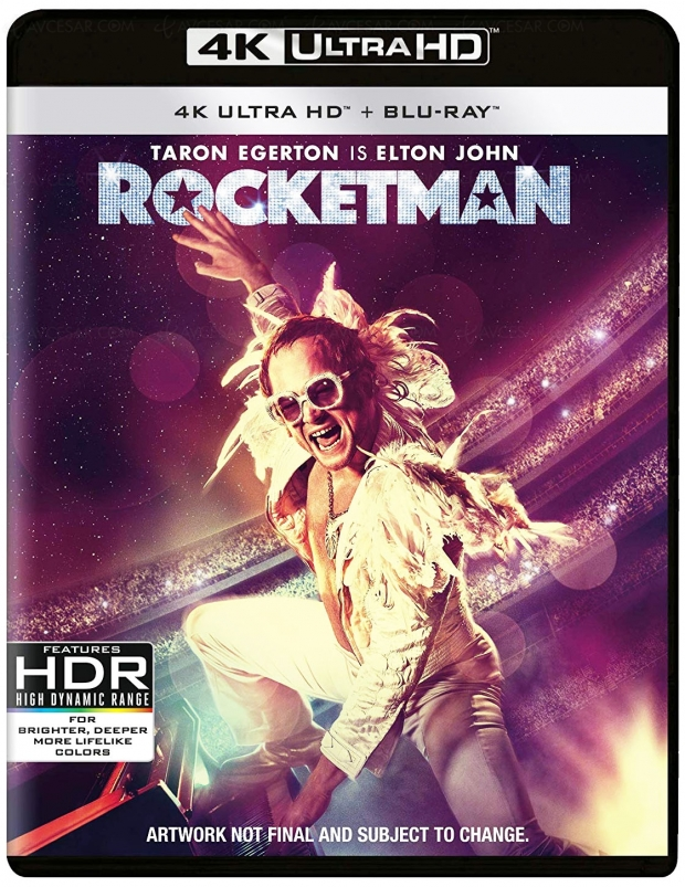 Rocketman 4K Ultra HD, de Reginald Dwight à Sir Elton John