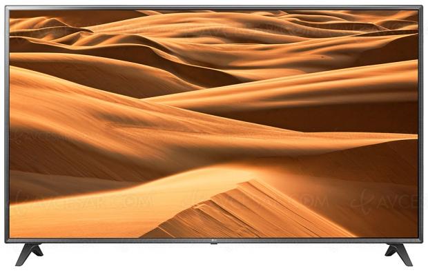 TV LED Ultra HD LG UM7100/UM7110, mise à jour prix indicatifs