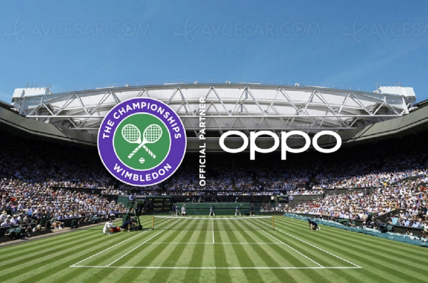 Oppo signe un partenariat avec le tournoi de Wimbledon