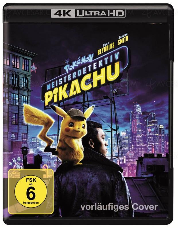 Pokémon Detective Pikachu 4K Ultra HD, faisceau de présomptions…