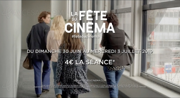 Fête du Cinéma du 30 juin au 3 juillet, c'est reparti