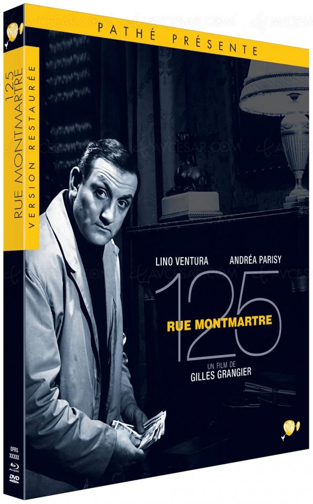 125 rue Montmartre : Lino Ventura et Robert Hirsch dans un polar de Gilles Grangier