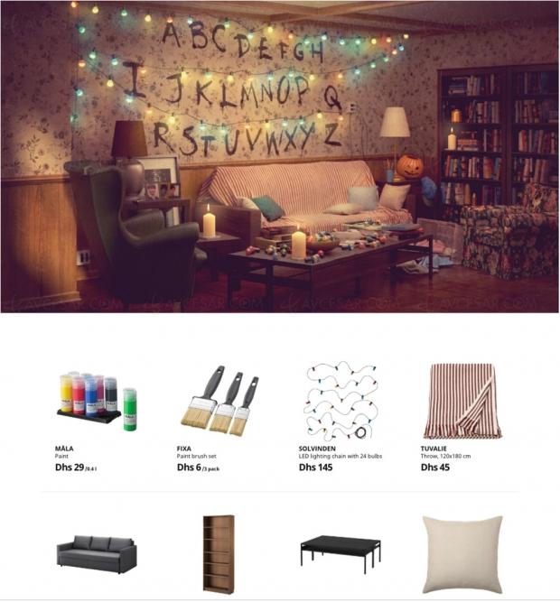 Ikea refait les décors de séries cultes et tout est à acheter