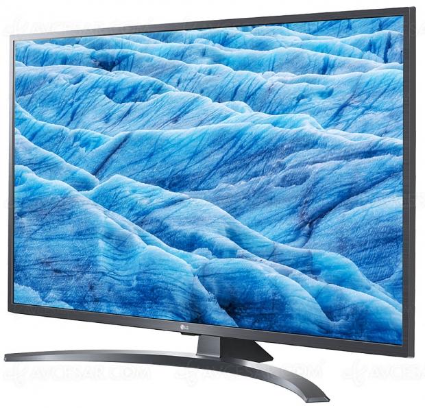 TV LED Ultra HD LG UM7400 : 43
