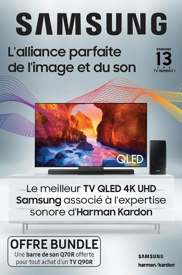 Test (express) Samsung HW‑Q70R 3.1.2, barre de son offerte pour l'achat d'un TV Samsung Q90R