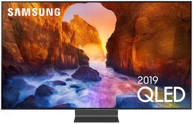 Test TV QLED Ultra HD/4K Samsung QE65Q90R, en ligne