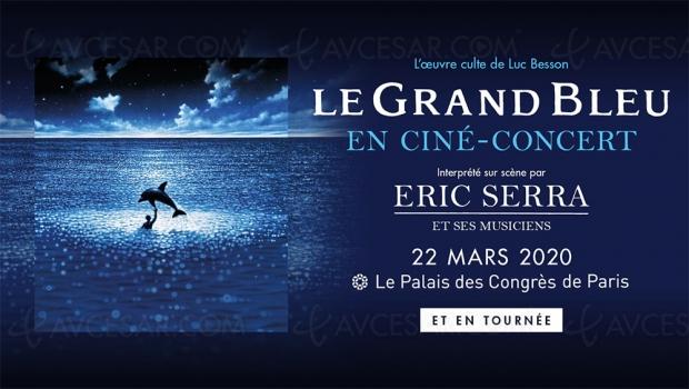 Le grand bleu, nouveaux ciné‑concerts d'Éric Serra pour les 30 ans du film de Luc Besson