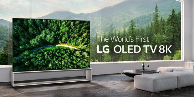 TV LG Oled Z9 Ultra HD/8K, premières infos prix !