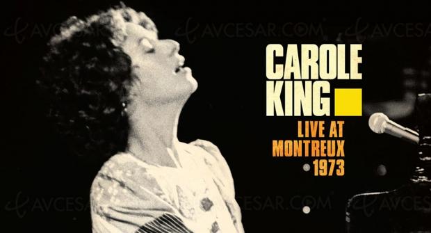 Un live à Montreux de la pianiste pop Carole King bientôt en DVD