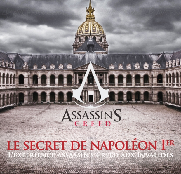 Expérience Assassin's Creed en réalité augmentée au Musée de l'Armée