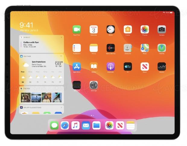 Adieu iOS sur iPad, bonjour iPadOS !