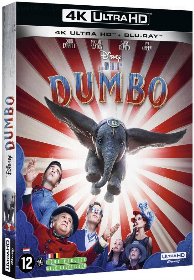 Dumbo 4K Ultra HD, infos, date et visuels officiels