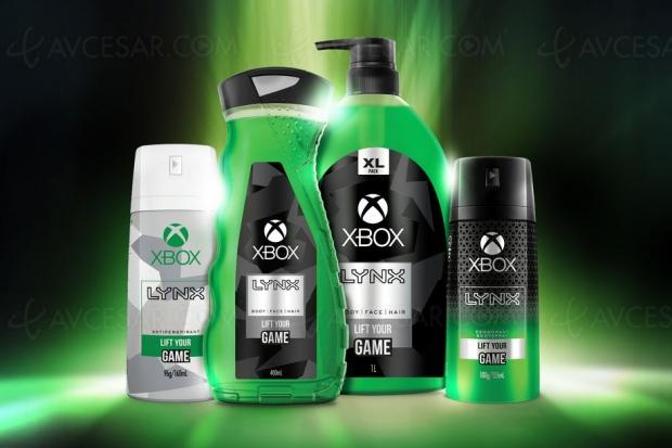 Déo et gel douche Xbox, parce que pourquoi pas ?
