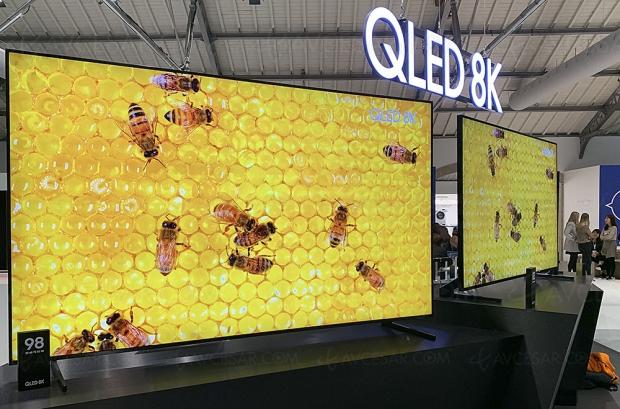 TV QLED 8K Samsung, 8 000 unités vendues en Corée depuis le lancement