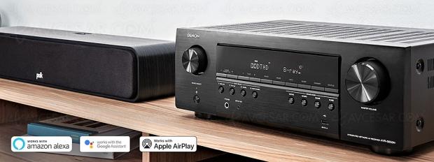 Test amplificateur/lecteur réseau Home Cinéma Denon AVR‑S650H, en ligne