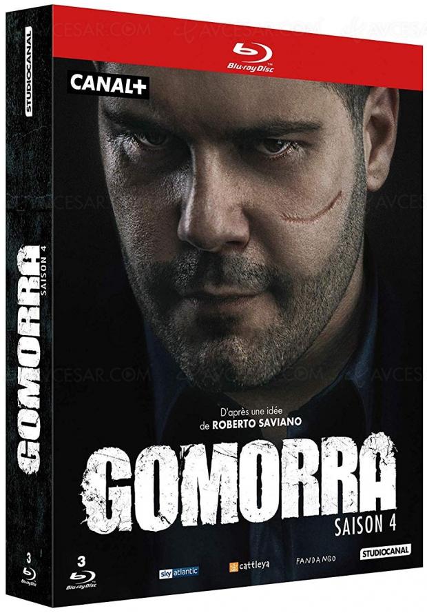 Gomorra saison 4 en Blu‑Ray/DVD et le retour de Ciro au cinéma (bande‑annonce)